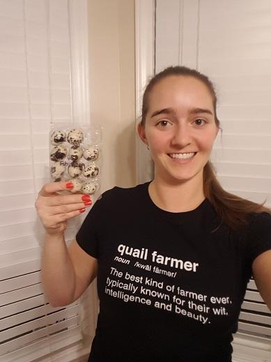 quail farmer t shirt