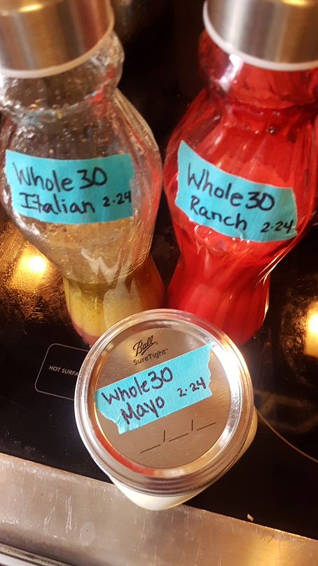 whole30 condiments