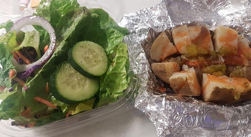 potato and salad