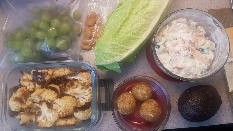 whole30 lunch spread