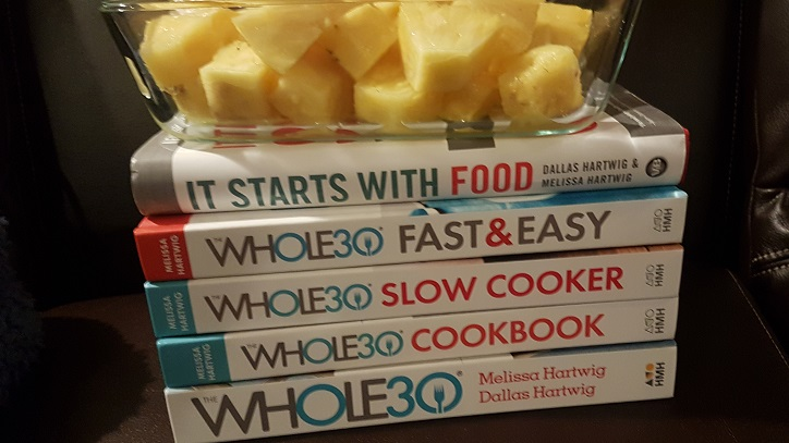 pineapple and all the whole30 books