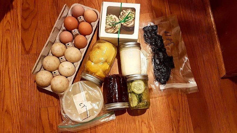 March 2019 Food Swap