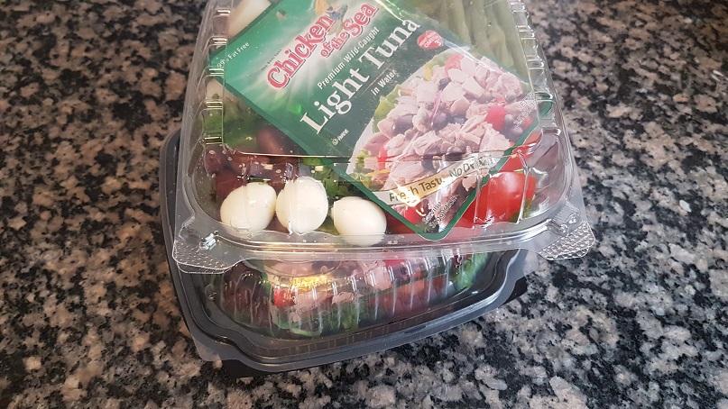 meal prep: nicoise salad